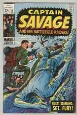 Captain Savage and His Leatherneck Raiders #11 February 1969 VG