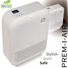 Quiet Portable Powerful 1.5KW 1500W Electric Floor Desk Fan PTC Heater 24h Timer