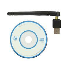 Adaptador de 802.11N/G/B Inalámbrico Mini Antena Wifi Tarjeta De Red Lan Usb 2.0