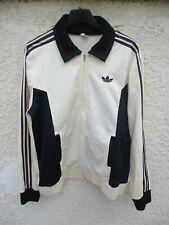 Veste ADIDAS vintage France Ventex tracktop jacket giacca années 70 jacke S/M