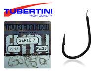 Hooks Tubertini Serie 7 Competition Strong Carp Pole Fishing 25pcs