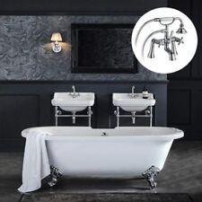 White Oval Baths 1700 mm Length