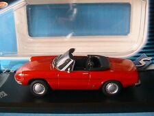 ALFA ROMEO 1300 SPIDER JUNIOR 1970 RED SOLIDO 1/43 ROSSO ROT ROUGE ITALIE CAR