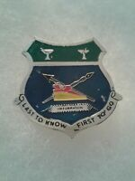 Authentic Beercan Insignia Army MACV Public Information Office DUI Unit Crest