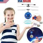 Infrared Sensor RC LED Shooting Flying Ball Aircraft Remote Shooting Game Toy