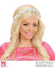 Flowers Hairband Oktoberfest Hippie White Headband Jewellery Women's