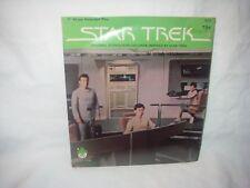 "RARE VINTAGE STAR TREK 7"" 45 RPM RECORD IN VINO VERITAS KIRK & CREW NEW SEALED"