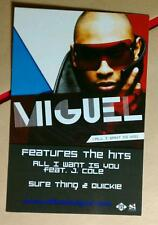MIGUEL J COLE QUICKIE SURE THING COLOR PHOTO MUSIC POSTCARD Mini POSTER
