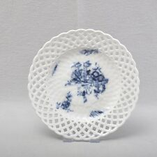 Meissen Breakdown Plate Cobalt Blue Underglaze Painting Circa 1760