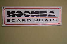 MOOMBA SKI BOARD BOAT BANNER SIGN WAKE BOARDING Parts Garage Shop Mechanic 10day