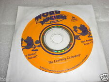 The Learning Company Word Munchers Deluxe Ver 1.03 Windows/Macintosh Cd-Rom