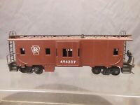 HO SCALE PENNSYLVANIA 496207 BAY WINDOW CABOOSE 2/3