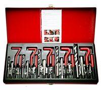 131Pcs Stripped Thread rethread Helicoil Repair Kit Set Metric M5 M6 M8 M10 M12
