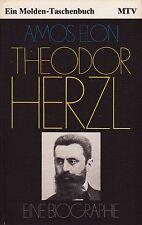 *- Theodor HERZL  - eine BIOGRAPHIE - Amos ELON  tb (1979)