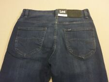 048 MENS NWT LEE L2 SLIM COOPER BLUE STRETCH DENIM JEANS SZE 28 REG $170 RRP.