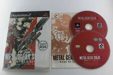 PLAY STATION 2 PS2 METAL GEAR SOLID 2 SONS OF LIBERTY 2 DISCOS COMPLETO PAL ESP