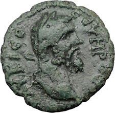 Septimius Severus 193AD Philippolis Thrace Nude Apollo Ancient Roman Coin i31765