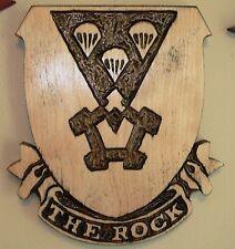503rd Parachute Infantry Regiment Creast, PIR, 173rd Airborne Regiment, THE ROCK