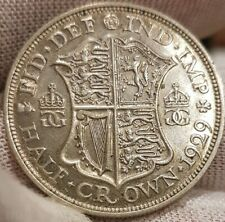1929 King George V Half Crown UNC