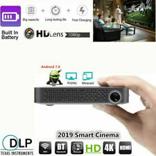 Mini 5500Lumens DLP Android Wifi Full HD 1080p Smart Video Projector HDMI USB US