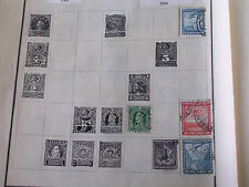 4 Different 1930s Chile Airmail Stamps/20 & 60 Centavos/2 & 5 Pesos/Hinged/Used