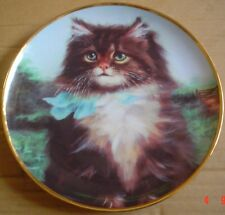 Lovely Franklin Mint Collectors Plate FAR FROM HOME Cat Kitten