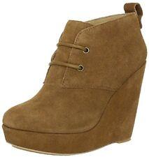 KOOLABURRA Katelyn 21 [ Size 35/36 39 40 41] Suede Ankle Boots Braun New