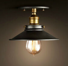 Vintage Restro Industrial Scone Ceiling Pendant Light Lamp Shade Metal Easy Fit