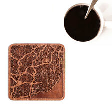 Lisbon map coaster One piece  wooden coaster Multiple city IDEAL GIFTS