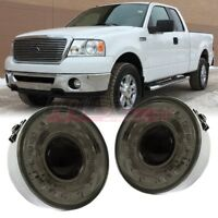 For 06-10 Ford F-150 OE Factory Fit Halo Fog Light Bumper Wiring Kit Smoke Lens