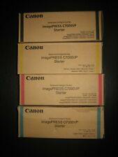 Set Of Genuine Canon imagePRESS CMYK Starter
