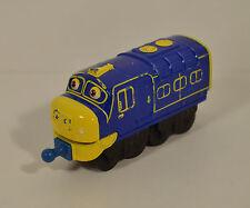 "2010 Brewster 3.75"" Learning Curve Diecast Metal Train Car Engine Chuggington"