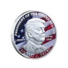 Donald Trump 45.Präsident USA Silber Silberne 3D Münze Medaille Silberbarren