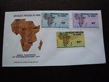 CONGO (brazzaville) - enveloppe 1er jour 18/7/1971 (B3)