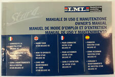 manuale LML star 4Tempi 125/150/151 cc libretto uso manutenzione SF594-0900