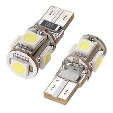 4 piezas T10 W5W 194 168 5050 luz de aparcamiento de LED 5 SMD 12V DC xenon D5U4
