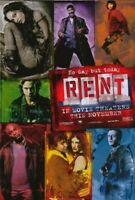 New RENT Original Movie Poster High Gloss 27x40 Authentic Double-Sided Poster!