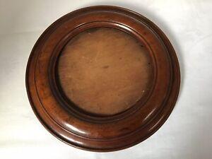 Fantastic Antique Victorian Mahogany  -  Round Photo Picture Frame
