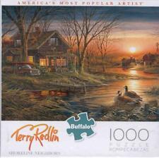 Terry Redlin Shoreline Neighbors  Buffalo Games Jigsaw Puzzle NIB