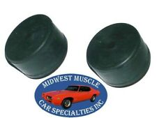 68-92 GM Hood Bumper Door Quarter Window Stop Rear Tailgate Rubber Bumper 2pc D