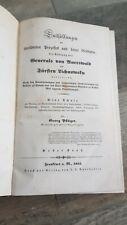 1852 Pflüger Tödtung des Generals von Auerswald und Fürsten Lichnowsky 1.Bd