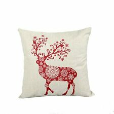 Lydealife 18 X 18 Inch Cotton Linen Decorative Throw Pillow Cover Cushion Case