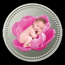 MMTC Pamp 10 gm Silver Newborn Baby Coin - LIMITED EDITION
