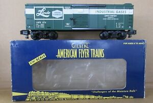 American Flyer 6-48231 TTOS 2003 Linde Box Tank Car S-Gauge C-7