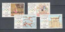 Zypern 613-16 ** Olympia 1984 kpl.