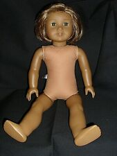 "American Girl 18"" Kanani Doll Short Brown Hair Hazel Eyes As Is"