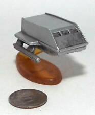 Micro Machine Star Trek NCC-1701 Enterpise Shuttle in Silver Color with Stand