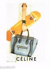 PUBLICITE ADVERTISING 105  2011   CELINE  collection sacs