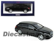 Norev 1:18 2015 Mercedes-Benz CLA Shooting Brake Diecast Model Car Black 183598