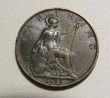Great Britain 1895 Farthing Coin